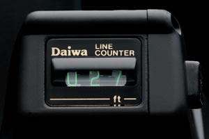 Daiwa line counter for Fishing line counter